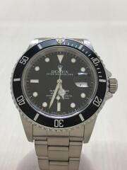 腕時計/アナログ/ステンレス/BLK/SLV/自動巻腕時計 ダイバーズ SUBMARINER DATE サブマリーナ