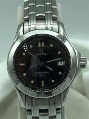 6502/830/seamaster/シーマスター120m/クォーツ腕時計/アナログ/ステンレス