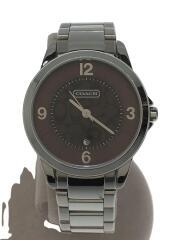 クォーツ腕時計/アナログ/ステンレス/BRW/SLV/CA.13.7.14.0428/ミニシグネチャー