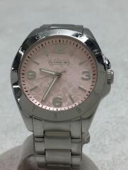 クォーツ腕時計/アナログ/ステンレス/CA67.7.14.0689/ピンク/アクセサリー/ロゴ/レディース