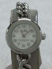 COACH コーチ クォーツ腕時計/アナログ/ステンレス/SLV/SLV