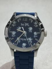 クォーツ腕時計/アナログ/--/NVY/BLU