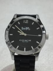 クォーツ腕時計/アナログ/ラバー/BLK/BLK/CA.79.7.95.1193