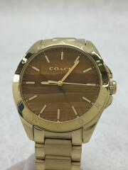 COACH コーチ クォーツ腕時計/アナログ/ステンレス/GLD/GLD
