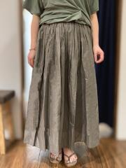 インド製/コットン100% キャンブリック スカート