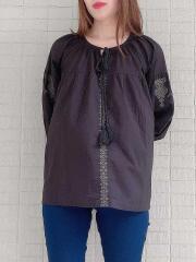 インド製/刺繍ブラウス