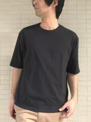 USAコットン100% 五分袖オーバーサイズTシャツ