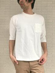 USAコットン100% 七分袖Tシャツ
