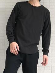 リサイクルポリエステルワッフル長袖Tシャツ