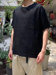 リネンミックス半袖プルオーバー