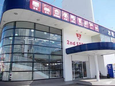 座光寺店の外観写真
