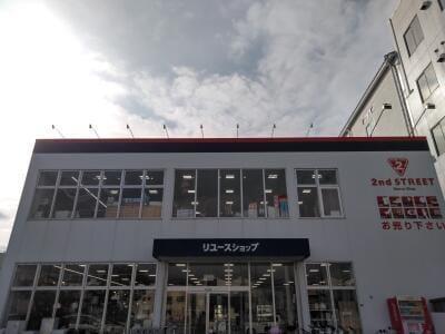 豊中穂積店の外観写真