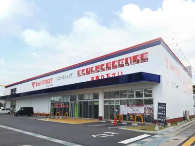 岡山高柳店の外観写真