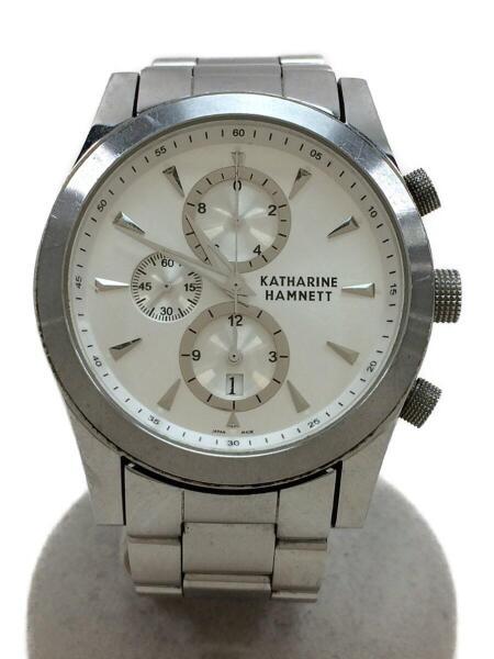 watch 73b29 7a5fc キャサリンハムネット/KH-2059/クォーツ腕時計/アナログ/ステンレス/SLV/中古